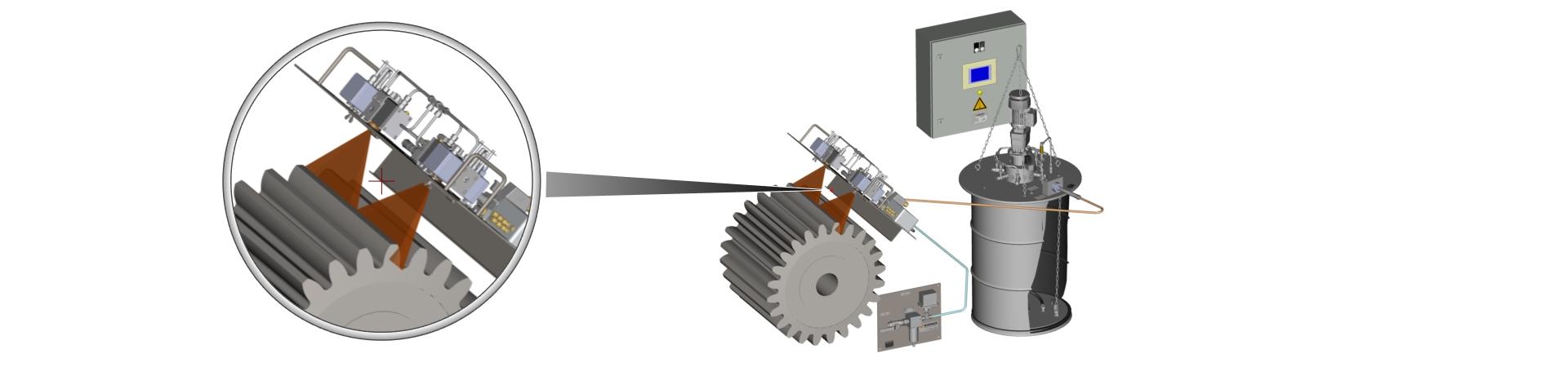 Spray Lubrication System - Woerner